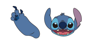 Lilo & Stitch Stitch Cursor