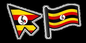 Курсор Флаг Уганда