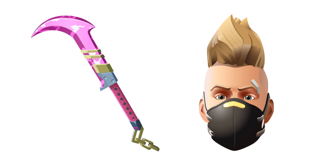 Fortnite Summer Drift Skin Dual Edge Pickaxe