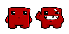 Super Meat Boy Cursor