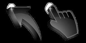 Jet Black 3D Curseur