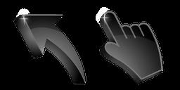 Jet Black 3D Cursor
