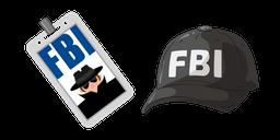 FBI Police Officer Curseur