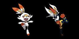 Pokemon Scorbunny and Cinderace Curseur