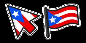 Puerto Rico Flag Curseur