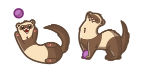 Cute Ferret Cursor