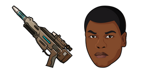 Star Wars Finn EL-16 Blaster Rifle Cursor