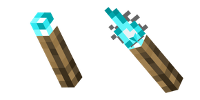 Minecraft Soul Torch Curseur