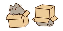 Pusheen in the Box Curseur