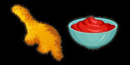Dino Chicken Nuggets Cursor