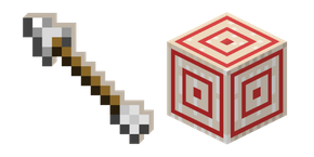 Minecraft Arrow and Target Cursor