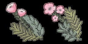 Pink Anemone Flower Curseur