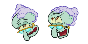 SpongeBob Mrs. Tentacles Cursor