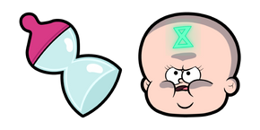 Gravity Falls Time Baby Cursor