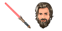 Star Wars Jedi Fallen Order Taron Malicos Lightsaber Cursor