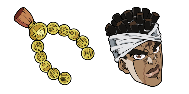 JoJo's Bizarre Adventure Muhammad Avdol
