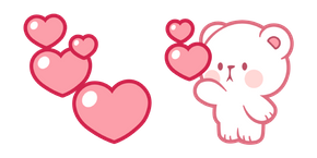 Milk & Mocha Milk Bear Love Cursor