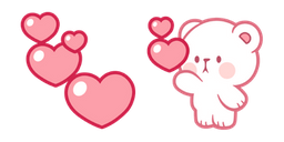 Milk & Mocha Milk Bear Love Cursor