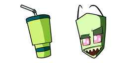 Invader Zim Almighty Tallest Red Curseur
