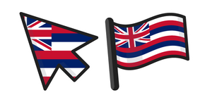 Hawaii Flag Cursor