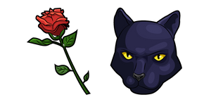 Star Fox Panther Caroso Rose Cursor