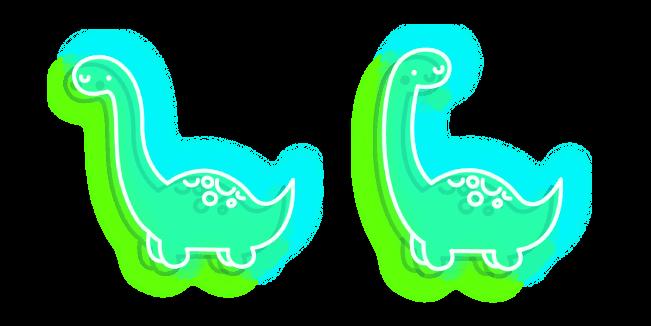 Green Dino Neon