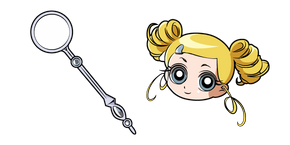 Powerpuff Girls Z Rolling Bubbles Cursor