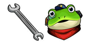 Star Fox Slippy Toad Wrench Cursor