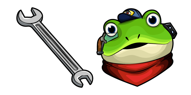 Star Fox Slippy Toad Wrench