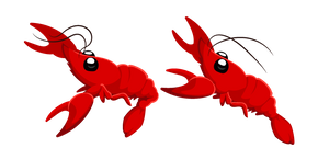 Red Crayfish Cursor