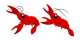 Red Crayfish Cursor