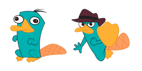 Phineas and Ferb Perry the Platypus Cursor
