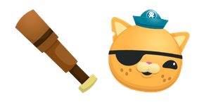 Octonauts Kwazii Cat Cursor