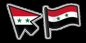 Syria Flag Curseur