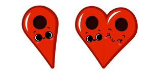 Cute Pin Drop in Love Cursor