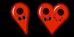 Cute Pin Drop in Love Cursor