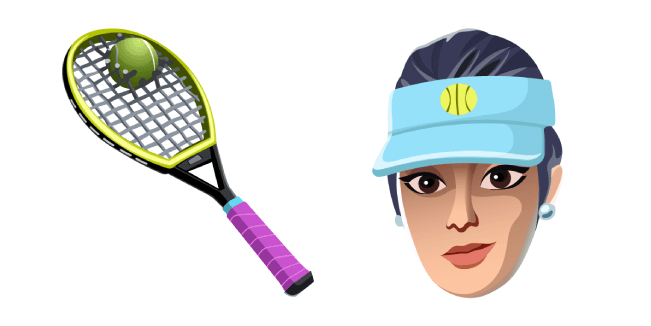 Fortnite Volley Girl Skin Used Racket Back Bling