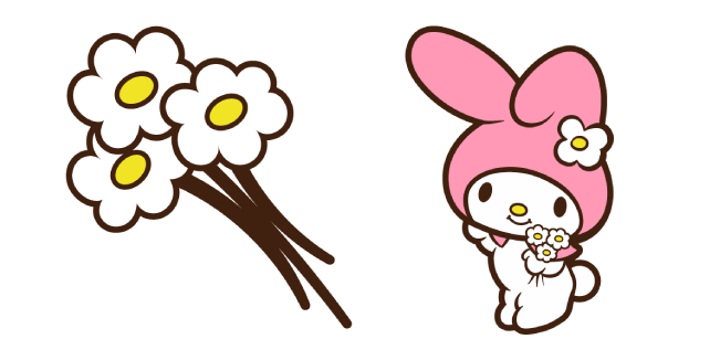 My Melody and Flowers