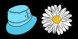 VSCO Girl Bucket Hat and Chamomile Cursor