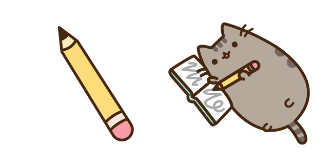 Pusheen and Pencil