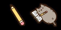 Pusheen and Pencil Curseur
