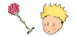 Little Prince and Rose Cursor