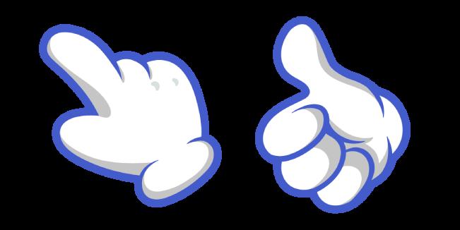 Мультяшная Белая Рука