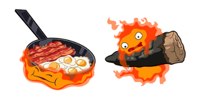 Howl's Moving Castle Calcifer Curseur