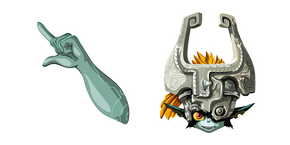 The Legend of Zelda Imp Midna Cursor