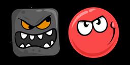 Red Ball 4 Cursor