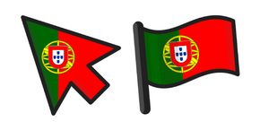 Portugal Flag Cursor