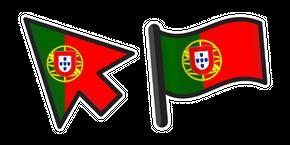 Курсор Флаг Португалия