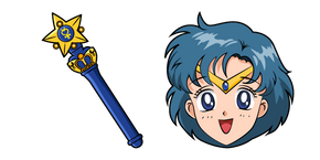 Sailor Moon Sailor Mercury Curseur