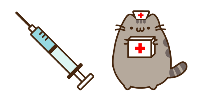 Doctor Pusheen and Syringe